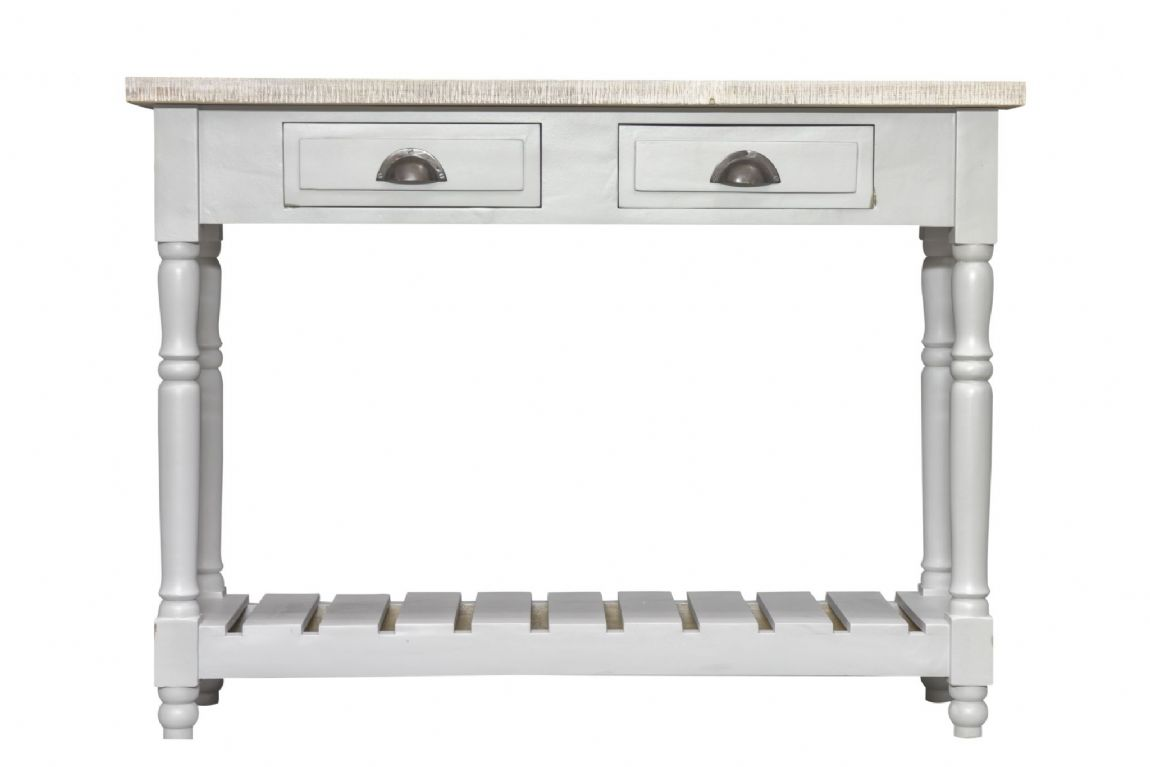 Fowey Console Table - Grey